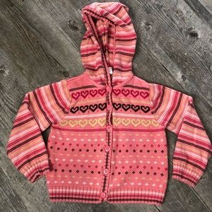 Gymboree Tyrolean Lure Sweater Size 5
